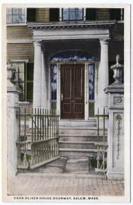 Salem, Mass, Cook Oliver House Doorway