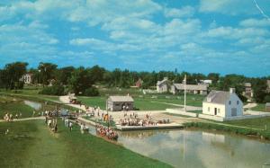 Canada - Ontario, Morrisburg. Upper Canada Village. Le Bateau Marguerite