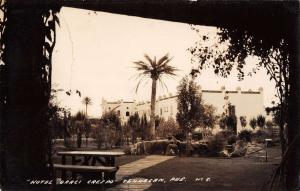 Tehuacan Mexico Hotel Garci Crespo Garden Real Photo Antique Postcard J40087
