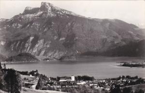 RP: MONDSEE mit Schafberf , Austria , 30-50s
