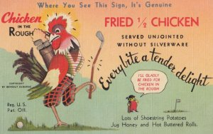AD: Chicken in the Rough Restaurants , 1930-40s