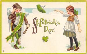 St Patrick's Day Saint Patrick's Day Postcard 1914