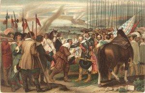 Velazqued. The surrender of Breda.Horses Fine painting Stengel PC # 29032