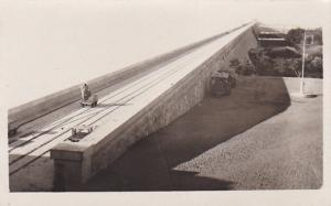 RP: ASSOUAN , Egypt , 1928 ; Top of Dam