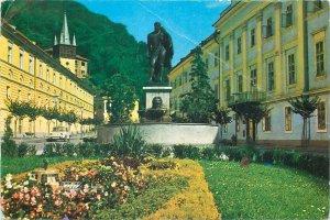 Romania Baile Herculane Statuia lui Hercules Postcard