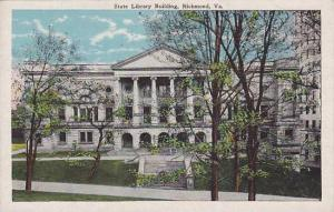 State Library Building, Richmond, Virginia, 10-20s