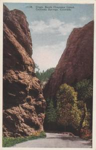 The Crags in South Cheyenne Canyon - Colorado Springs CO, Colorado - WB
