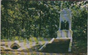Georgia Marietta Illinois Monument At CHeatham Hill