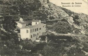 greece, SAMOS, Monastere de Cotrica (1919) Emmanuel Rigenou