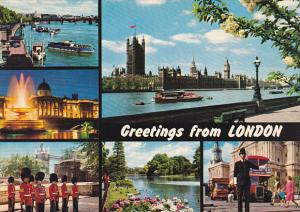England Multi View Greetings From London