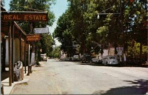 Murphys California~Main Street East~Hotel~Real Estate~Old Timers Museum~1960s