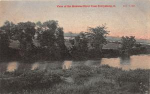 F6/ Perrysburg Ohio Postcard c1910 Maumee River View