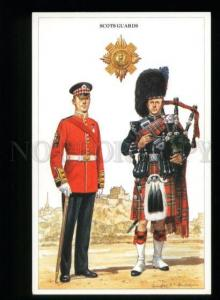 137227 British Army Scots Guards Bag-pipe by Anderson