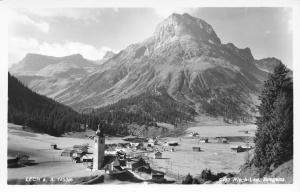 Lech-Vorarlberg Austria~St Nicholas Catholic Church~RPPC 1920s?