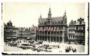 Postcard Modern Brussels Grand Place Maison Du Roi