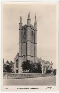 Wiltshire; St Peter's Church, Marlborough RP PPC By Frith, Unposted, c 1950's