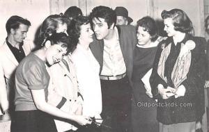 Elvis Presley Movie Star Actor Actress Film Star 1987 photo postcard