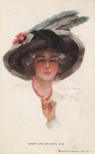 BOILEAU , Philip :  Sweet Lips of Coral Hue  , 1900-10s