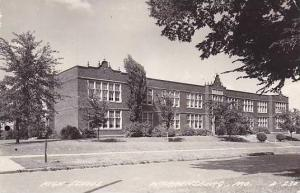 Missouri Warrensburg High School 1949 Real Photo RPPC