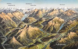BG37811 vorderstaussen map kartenn bad reichenhall   germany