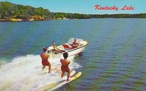 Kentucky Water Skiing On Kentucky Lake
