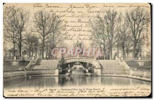 Old Postcard Chateau d & # 39eau the place Darcy Dijon