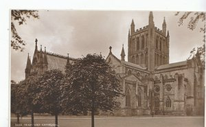 Herefordshire Postcard - Hereford Cathedral     ZZ3231