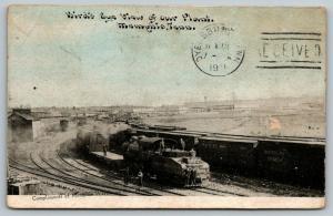 Memphis TN~Warehouse Company Plant~Workers~Train Railroad Yards~1911 CU Williams