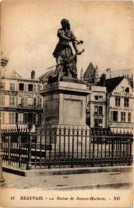 CPA BEAUVAIS - La Statue de Jeanne-Hachette (291556)