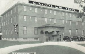 LACOLLE , Quebec, Canada, 1910-20s ;LACOLLE INN