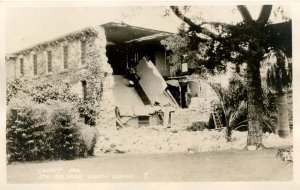 CA - Santa Barbara, 1925 Earthquake. The County Jail Damage   *RPPC