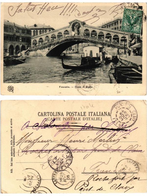CPA Venezia Ponte di Rialto. ITALY (521291)