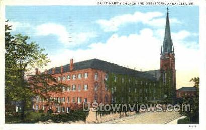 Saint Mary's Church Annapolis MD 1943