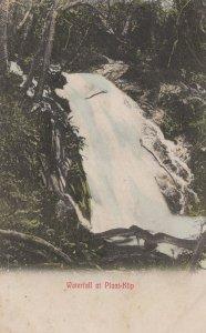 Plaat Klip South African Waterfall Old Postcard