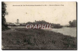 Surroundings Ferte sous Jouarre Postcard Old Banks of the Marne has Ussy