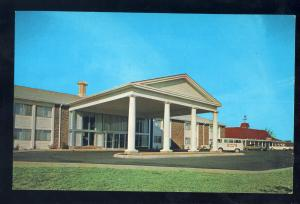 Spartanburg, South Carolina/SC Postcard, The Ramada Inn, Old Van & Cars