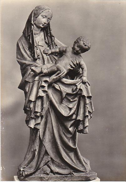 Czech Republic Replica of Holy Virgin of Krumlov 15th Century Galerie v Praze...