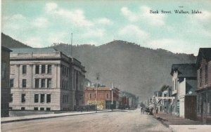 WALLACE , Idaho, 1900-10s ; Bank Street