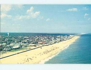 Unused Pre-1980 SCENE AT BEACH Rehoboth Beach Delaware DE M6796@