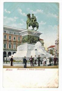 095 Italy Milan   Monument of Vittoro Emanuele II