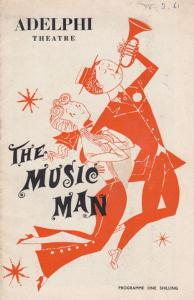 The Music Man Adelphi Musical London Theatre Programme