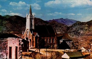 Nevada Virginia City St Mary's church In The Mountains