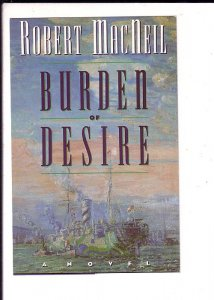 Robert MacNeil, Burden of Desire Novel Advertising Postcard,
