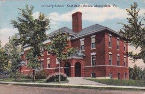 Primary School East State Street Montpelier Vermont