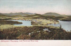 New York Adirondack Mountains Lake Placid and Mirror Lake 1948
