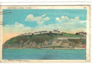 QUEBEC, Canada, PU-1928; The Citadel, La Citadelle