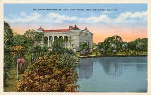 LA - New Orleans, Delgado Museum of Art, City Park