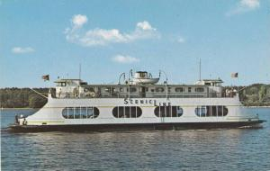 Scenic Lines Auto & Passenger Ferry M.V. CHAMPLAIN on Lake Champlain, New York