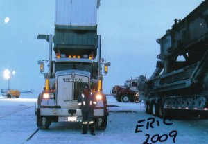 Eric Dufresne Ice Road Truckers 2009 Hand Signed Autograph Photo