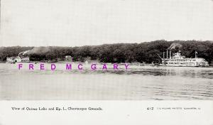 1908 Quiver Lake Illinois PC: Epworth League Chautauqua  Grounds